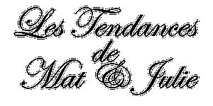 Logo LES TENDANCES DE MAT ET JULIE