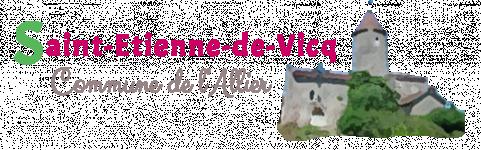 avis COMMUNE DE ST ETIENNE DE VICQ