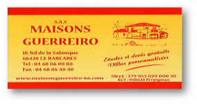 avis SARL MAISON GUERREIRO