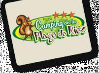 Logo CAMPING DE LA PLAGE DE RIEZ