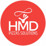 Logo H M D PIZZA