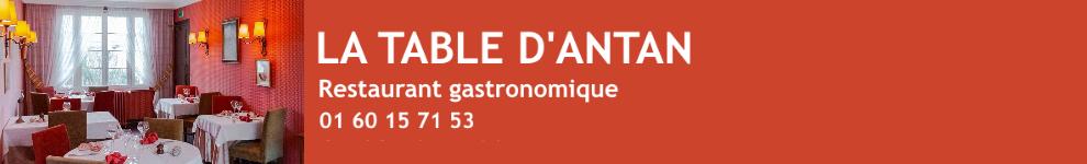 avis LA TABLE D ANTAN