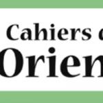 avis LES CAHIERS DE L ORIENT