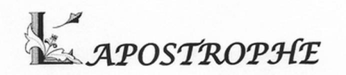 avis ASS AUTOUR DE LA COMPAGNIE APOSTROPHE