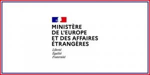 avis Ministère des Affaires Étrangères et Européennes